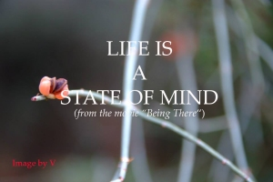 life is a state of mind